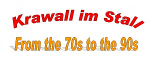 Plakat-Herbstfete-2013 - Krawall im Stall